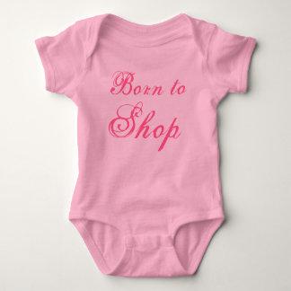 Born to Shop Baby Bodysuit