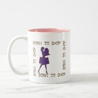Born To Shop Funny Mugs