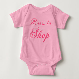 Born to Shop Tee Shirt
