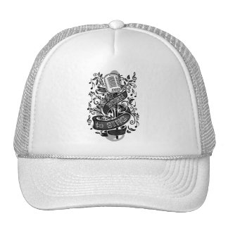 Born To Sing Bags and Caps Trucker Hat