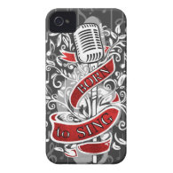Born To Sing Electronic skins and cases Case-Mate iPhone 4 Cases