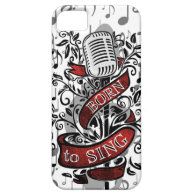 Born To Sing Electronic skins and cases iPhone 5 Covers