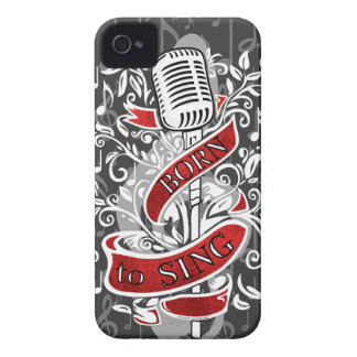 Born To Sing Electronic skins and cases iPhone 4 Cases