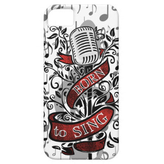 Born To Sing Electronic skins and cases iPhone SE/5/5s Case