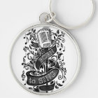 Born To Sing Gifts Keychain