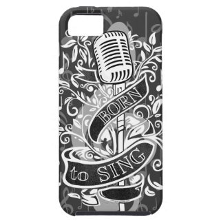 Born To Sing iPhone 5 case