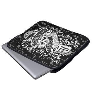 Born To Sing Laptop Sleeve