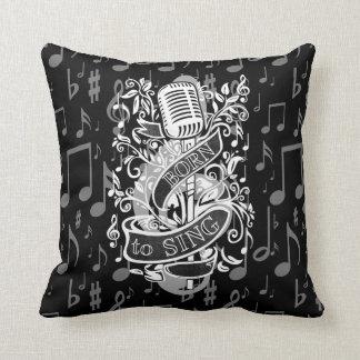 Born To Sing Throw Pillow 2