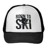 BORN TO SKI 04 FREESTYLE.png Trucker Hat