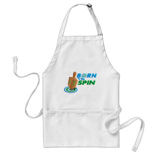 Born To Spin Adult Apron