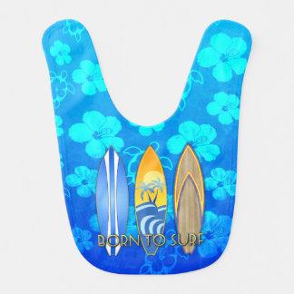 Born To Surf Blue Honu Bibs