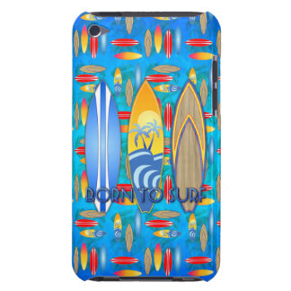 Born To Surf iPod Touch Case-Mate Case