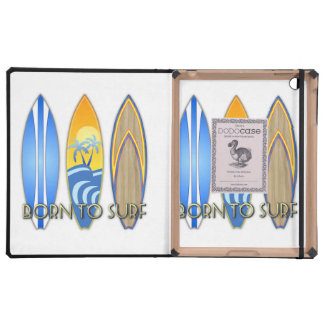 Born To Surf Covers For iPad