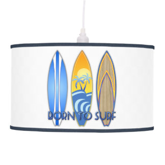 Born To Surf Ceiling Lamp