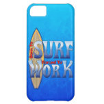 Born To Surf Forced To Work iPhone 5C Cases