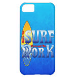Born To Surf Forced To Work iPhone 5C Covers