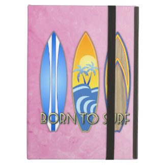 Born To Surf iPad Cases
