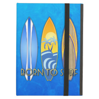 Born To Surf iPad Cover