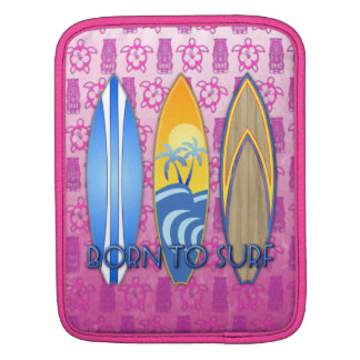 Born To Surf Sleeve For iPads