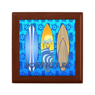 Born To Surf Keepsake Box