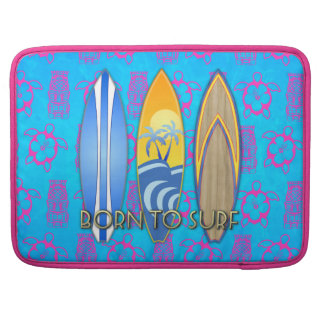 Born To Surf Sleeve For MacBooks