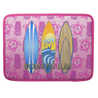 Born To Surf Sleeve For MacBook Pro
