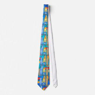 Born To Surf Neck Tie