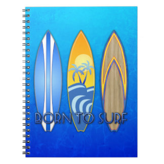 Born To Surf Notebook