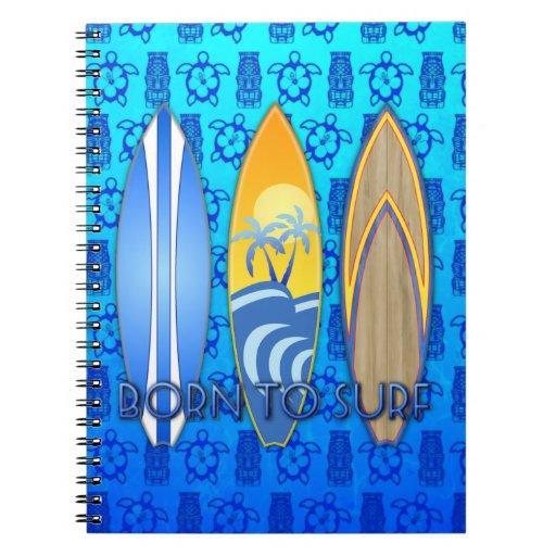 Born To Surf Journals