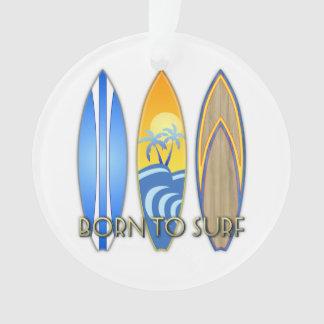 Born To Surf Ornament