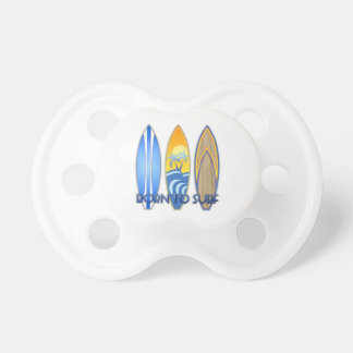 Born To Surf Pacifier