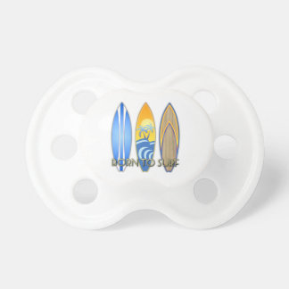 Born To Surf Baby Pacifier