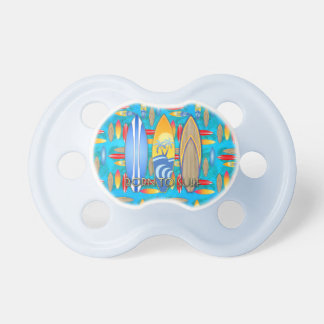 Born To Surf Pacifiers