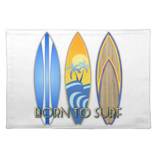 Born To Surf Placemats