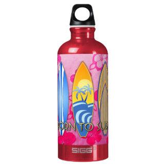 Born To Surf SIGG Traveler 0.6L Water Bottle