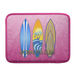 Born To Surf Sleeve For MacBook Air