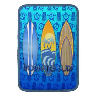 Born To Surf Sleeves For MacBook Air