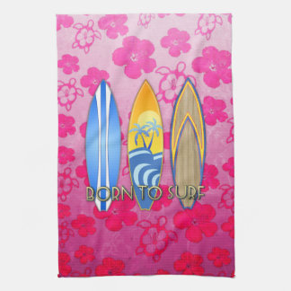 Born To Surf Towel