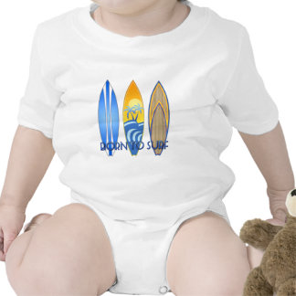 Born To Surf Rompers