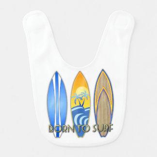 Born To Surf Bib