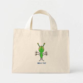 Born To Text Mini Tote Bag