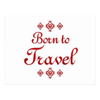 BORN TO TRAVEL POSTCARDS