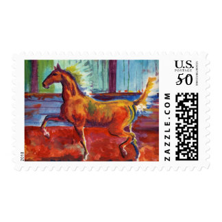 Born to Trot - Saddlebred Stamps