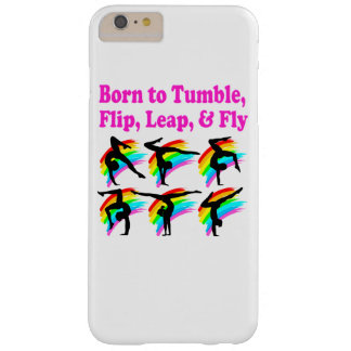 BORN TO TUMBLE GYMNASTICS DESIGN BARELY THERE iPhone 6 PLUS CASE
