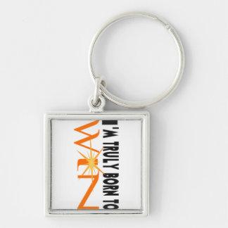 Born To Win Keychain