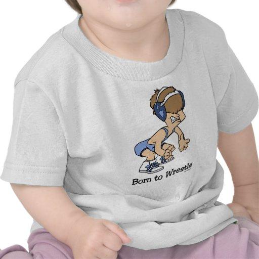 Born to Wrestle t-shirt