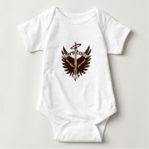 Born Twice Spina Bifida Fetal Surgery Angel Wings Baby Bodysuit