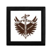Born Twice Spina Bifida Fetal Surgery Angel Wings Jewelry Box