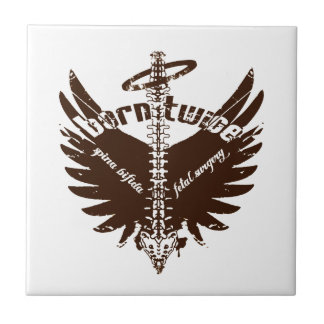 Born Twice Spina Bifida Fetal Surgery Angel Wings Tile