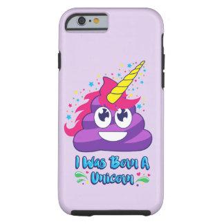 Born Unicorn Poop Emoji Phone Case